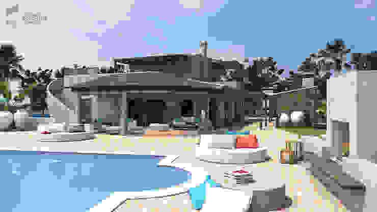 Remodelação de Moradia Existente – Algarve por Essencia Architects