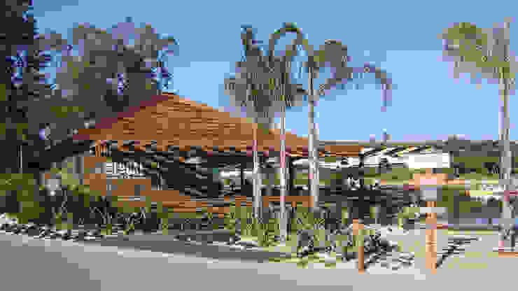The Shack – Lake Bar por Essencia Architects Rústico Madeira Acabamento em madeira