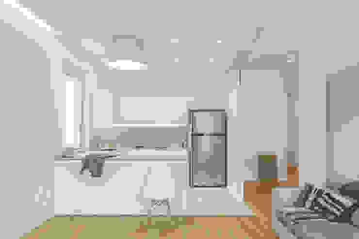 Modern kitchen by salvatore cannito architetto Modern