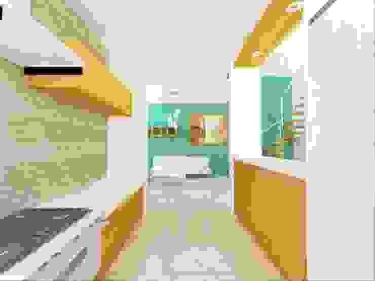 Minimalist kitchen by DLR ARQUITECTURA/ DLR DISEÑO EN MADERA Minimalist
