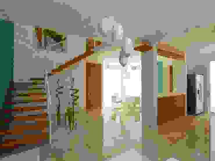SALA Salones minimalistas de DLR ARQUITECTURA/ DLR DISEÑO EN MADERA Minimalista