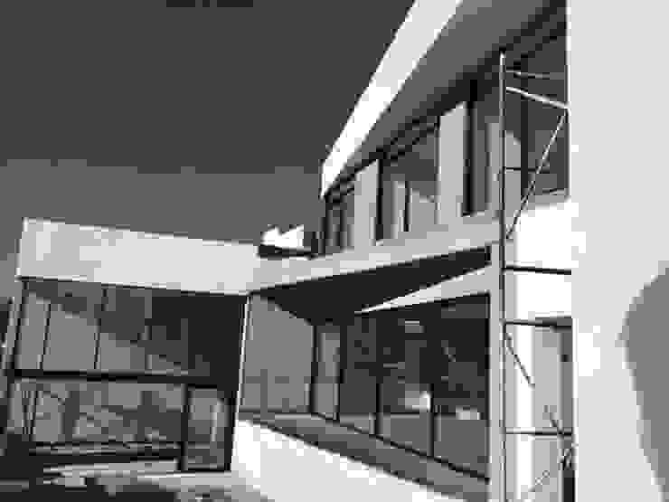 CASA SIX /AGUILERA SALAS ARQUITECTOS / TANGENTE ARQUITECTURA MX Casas modernas de AGUILERA SALAS ARQUITECTOS Moderno