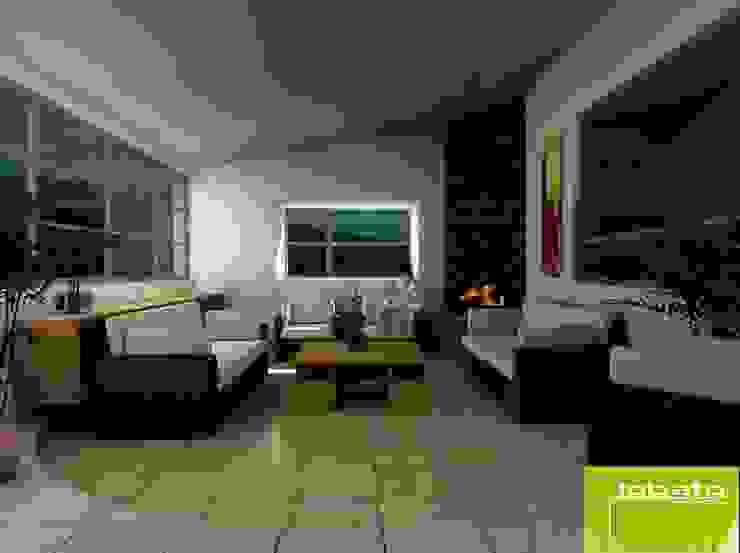 Sala de Estar Salones modernos de Lobato Arquitectura Moderno