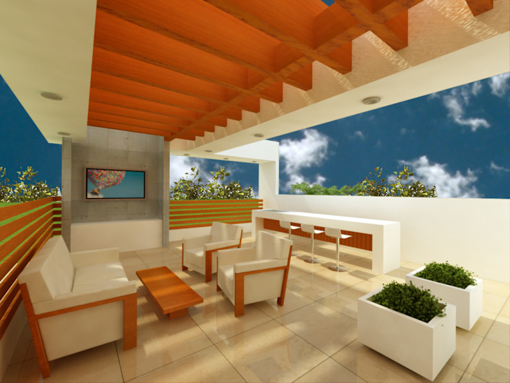 Terrace by DLR ARQUITECTURA/ DLR DISEÑO EN MADERA