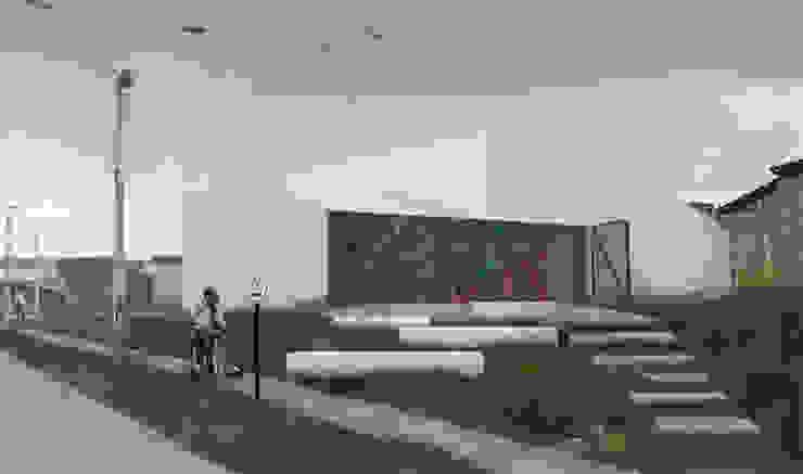 Centro Comunitario Tierras Blancas Casas de estilo minimalista de Superficie Arquitectura Minimalista Hierro/Acero