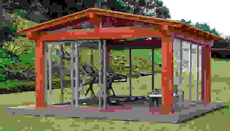 Verdebano ASC F.lli Saramin & Co. s.n.c. Asian style garden Engineered Wood Wood effect