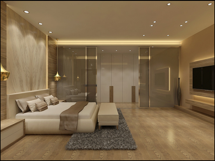 Master Bedroom by homify Minimalist