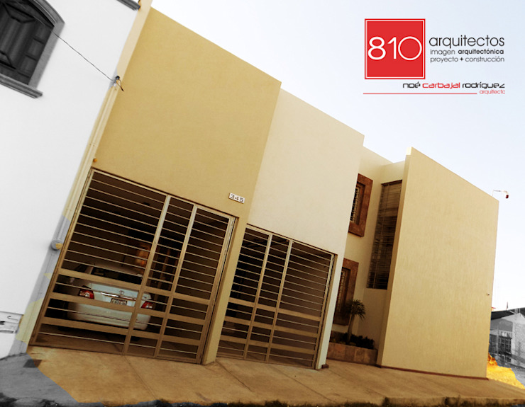 Casa Habitación y Notaria Parroquial Casas modernas de 810 Arquitectos Moderno