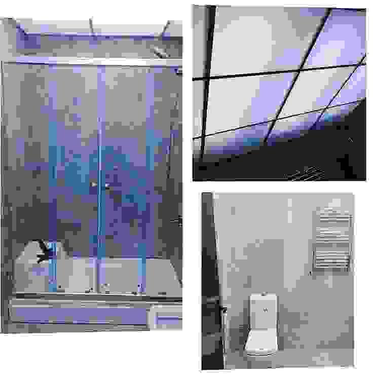 BANYO YENİLEME Modern Banyo Dekoroba İç Mimari & Dekorasyon Modern