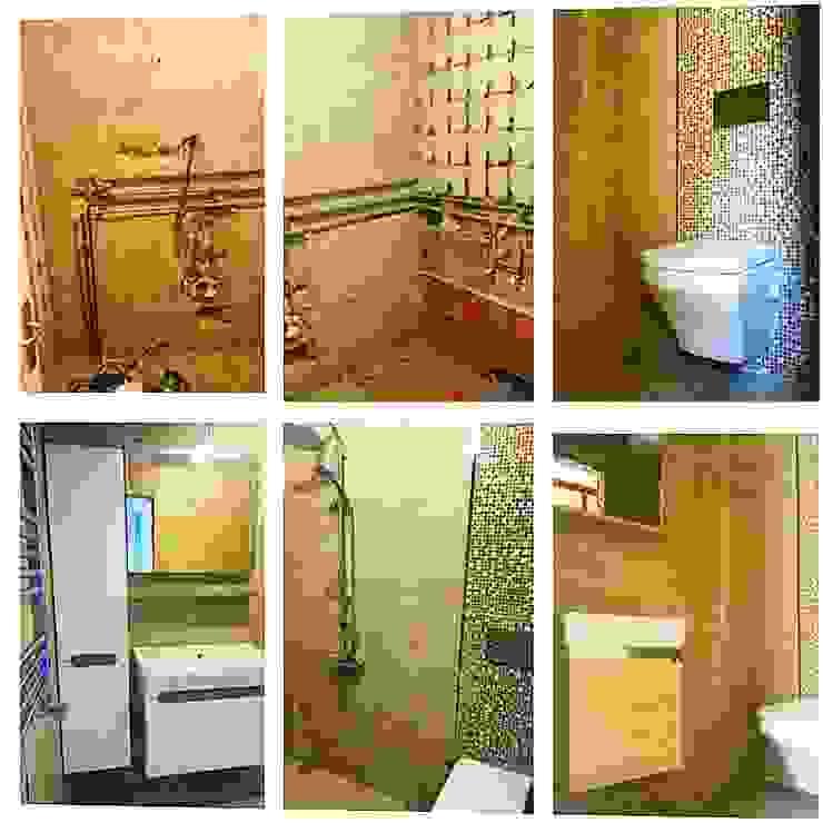 KOMPLE DAİRE TADİLATI Modern Banyo Dekoroba İç Mimari & Dekorasyon Modern