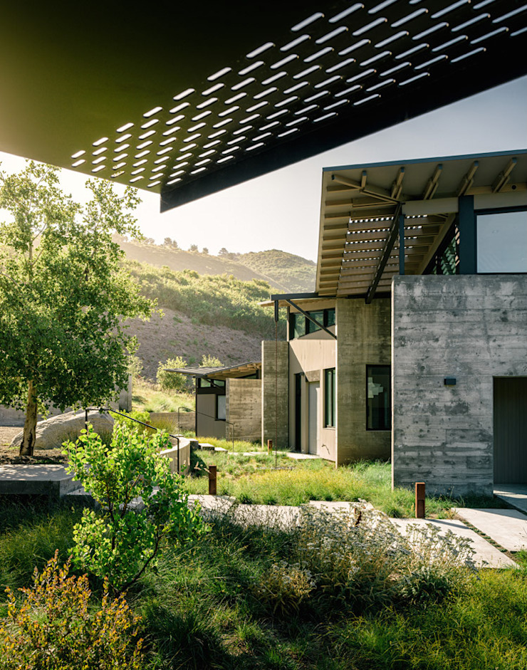 Butterfly House Modern Houses by Feldman Architecture Modern Concrete