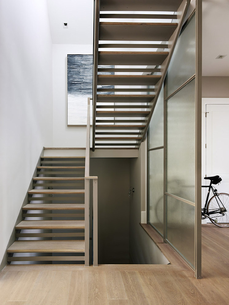 Noe Valley I Classic style corridor, hallway and stairs by Feldman Architecture Classic