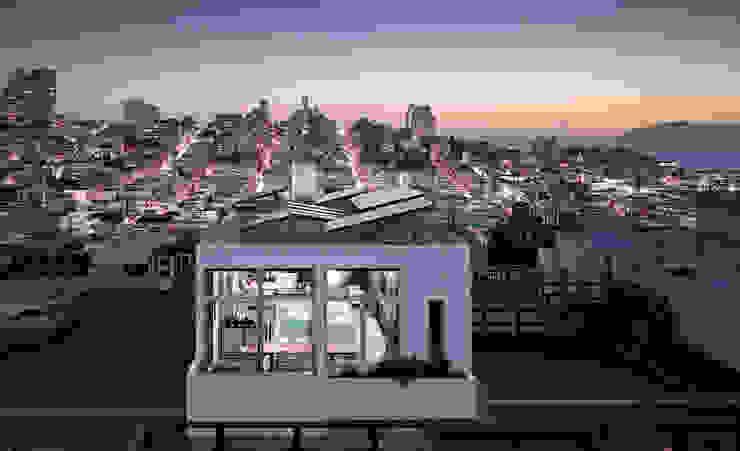 Telegraph Hill Modern Houses by Feldman Architecture Modern