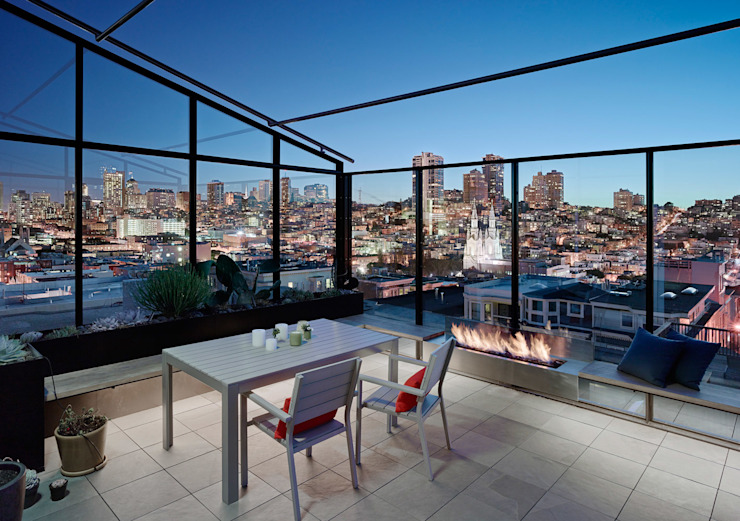 Terrace by Feldman Architecture, Modern