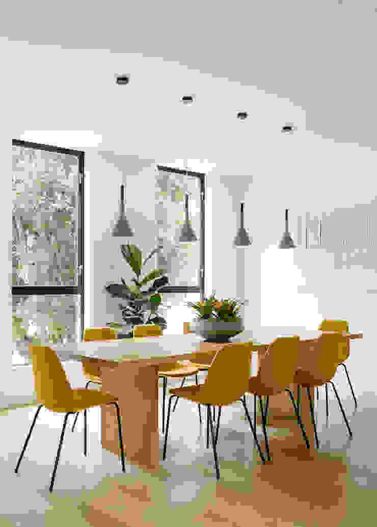 Fitty Wun Modern Dining Room by Feldman Architecture Modern