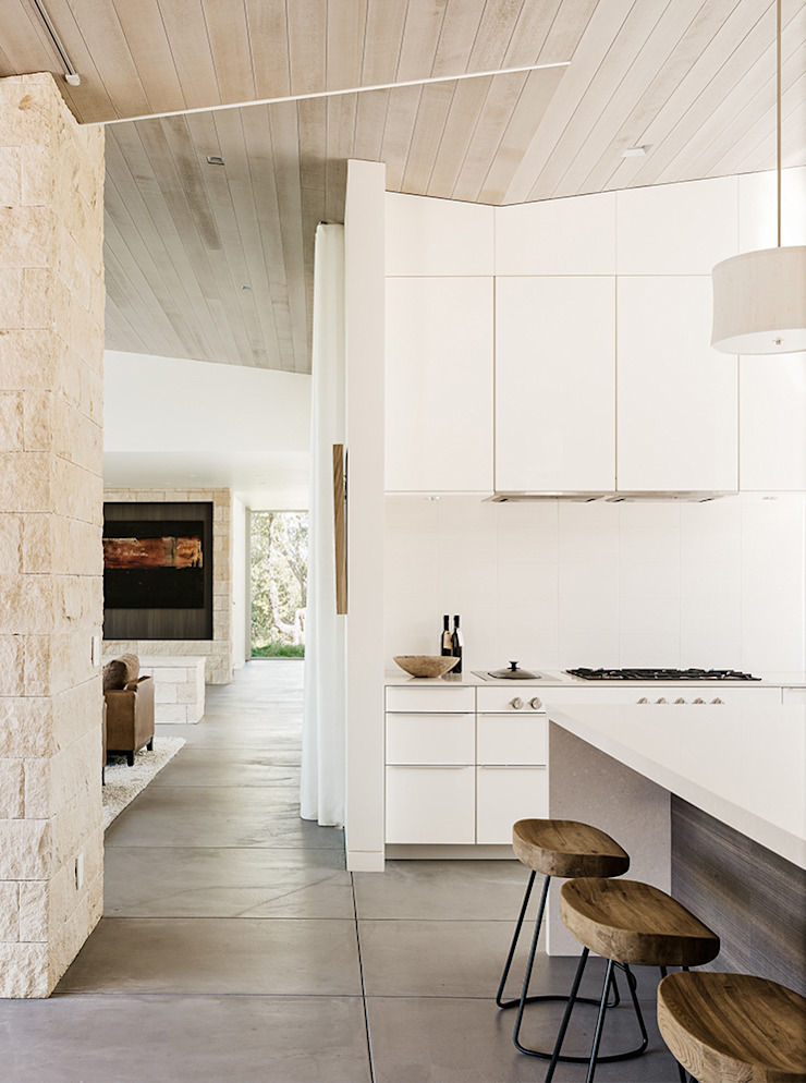 Ranch O|H Modern Kitchen by Feldman Architecture Modern