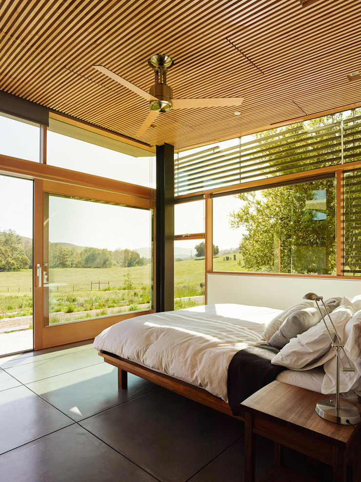 Spring Ranch Modern Bedroom by Feldman Architecture Modern