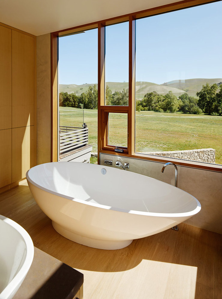 Spring Ranch Modern Bathroom by Feldman Architecture Modern