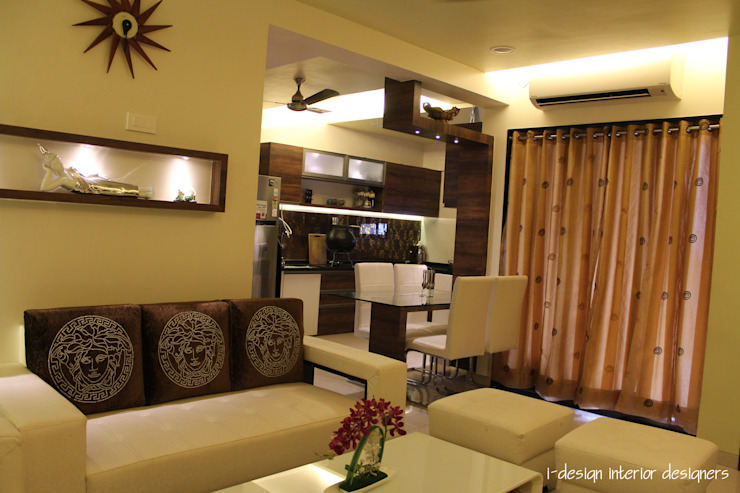 A Stylish 3bhk Pune Apartment Designed For Rupees 15 Lakhs Homify Homify