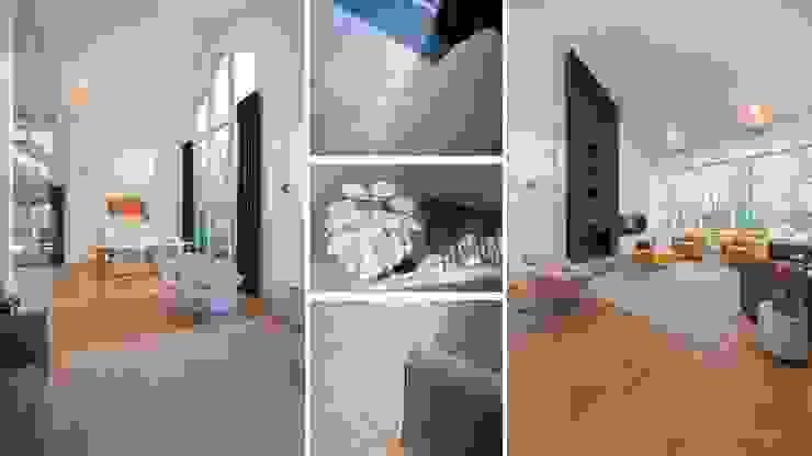 Bosvilla Rosmalen Moderne woonkamers van Studio'OW Interieurontwerp Modern