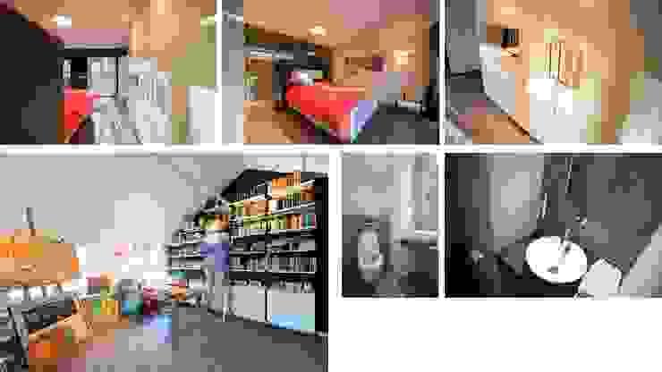 Bosvilla Rosmalen Moderne slaapkamers van Studio'OW Interieurontwerp Modern