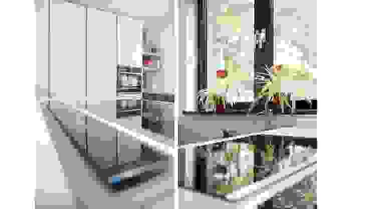 Moderne en strakke keuken Moderne keukens van Studio'OW Interieurontwerp Modern