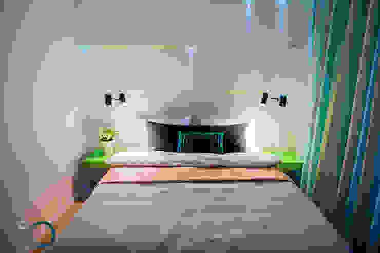 Dormitorios de estilo moderno de LEMUR Architekci Moderno