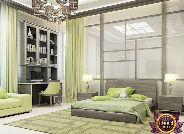 Bedroom design ideas of Katrina Antonovich 1 Minimalist bedroom by Luxury Antonovich Design Minimalist