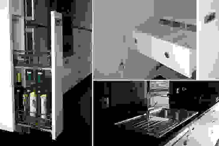 pormenores da cozinha por Emprofeira - empresa de projectos da Feira, Lda. Moderno MDF