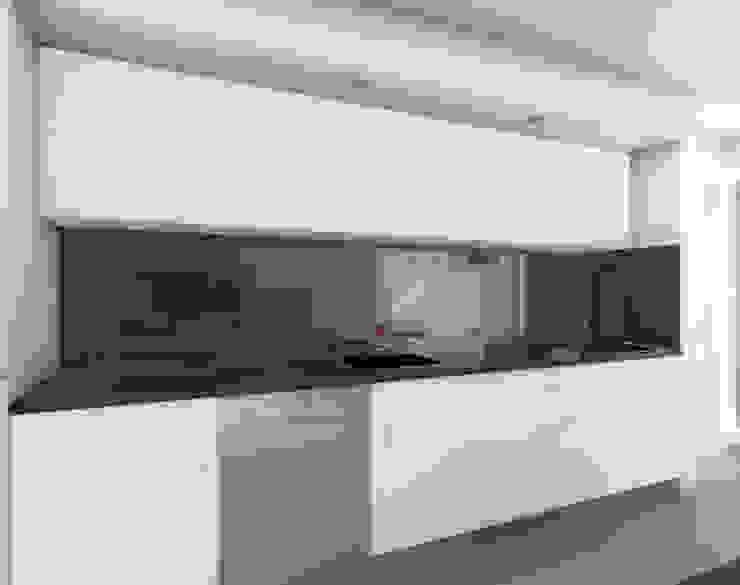 representação 3D da intervenção Cozinhas modernas por Emprofeira - empresa de projectos da Feira, Lda. Moderno MDF