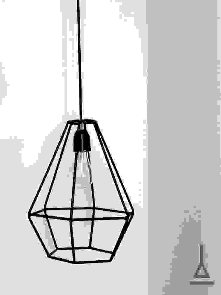 Taruca Rubí Artefactory DormitoriosIluminación Metal Negro