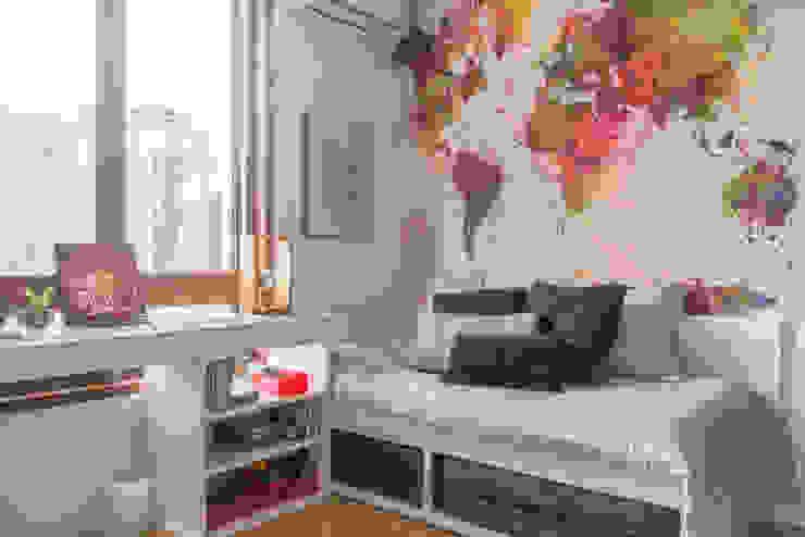 Dormitorios de estilo moderno de Danyela Corrêa Arquitetura Moderno Tablero DM