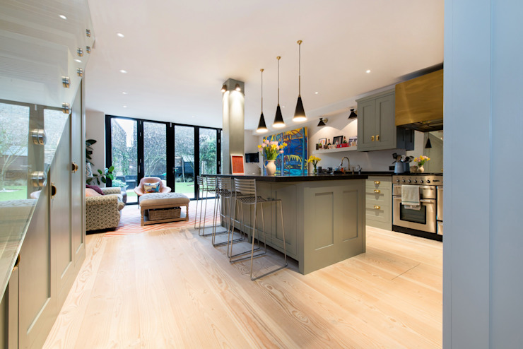 Fulham Road Modern kitchen by Orchestrate Design and Build Ltd. Modern