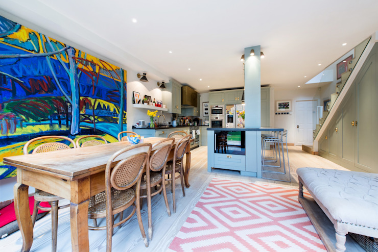 Fulham Road:  Kitchen by Orchestrate Design and Build Ltd., Modern