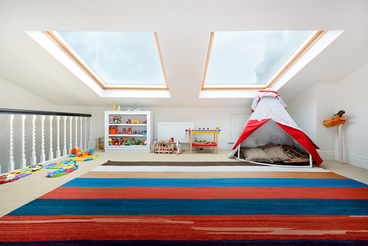 Netherton Grove Modern nursery/kids room by Orchestrate Design and Build Ltd. Modern