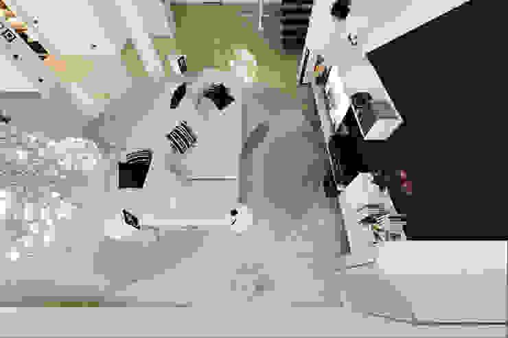 Annalisa Carli Modern Oturma Odası Masif Ahşap Beyaz