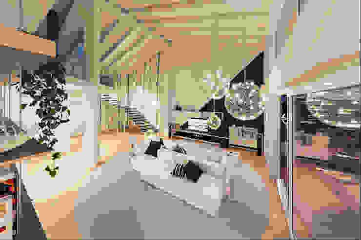 Annalisa Carli Modern Oturma Odası Ahşap Beyaz