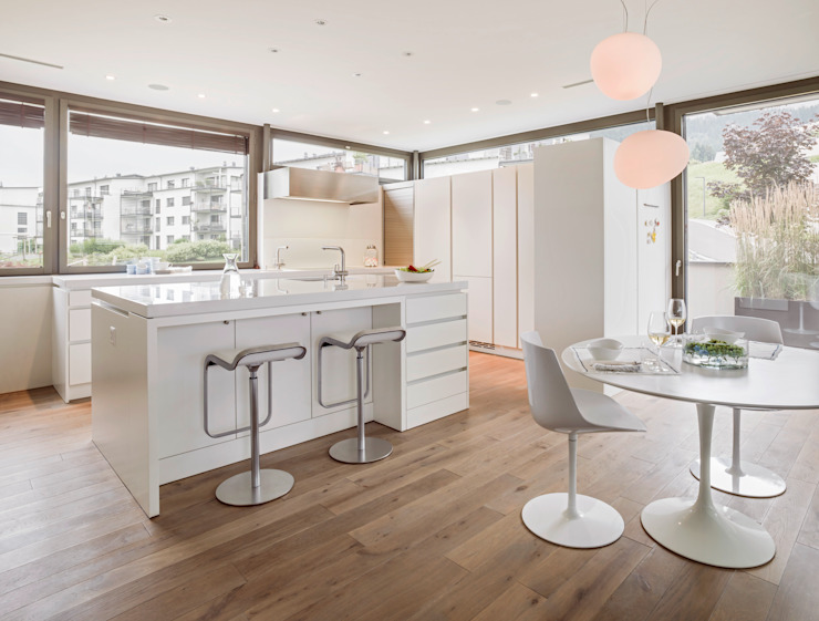 Modern dining room by meier architekten zürich Modern