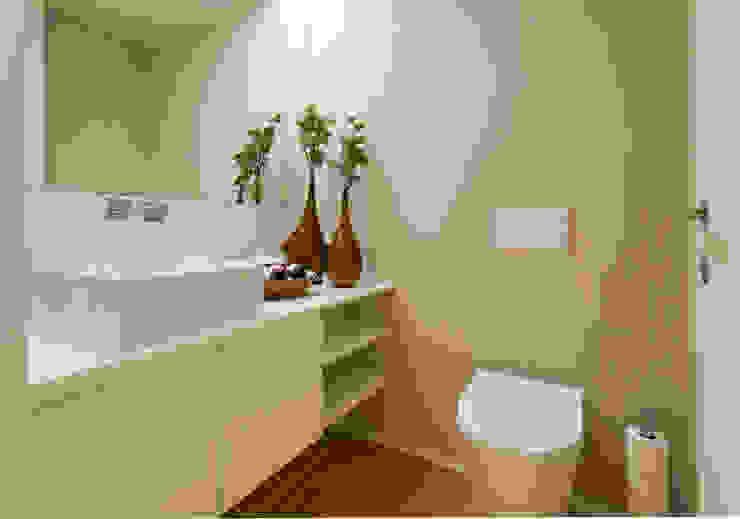 Casa de Banho Social por Traço Magenta - Design de Interiores Moderno