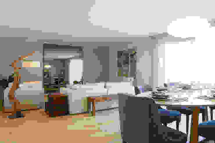 Sala Comum Traço Magenta - Design de Interiores Sala de estarAcessórios e Decoração