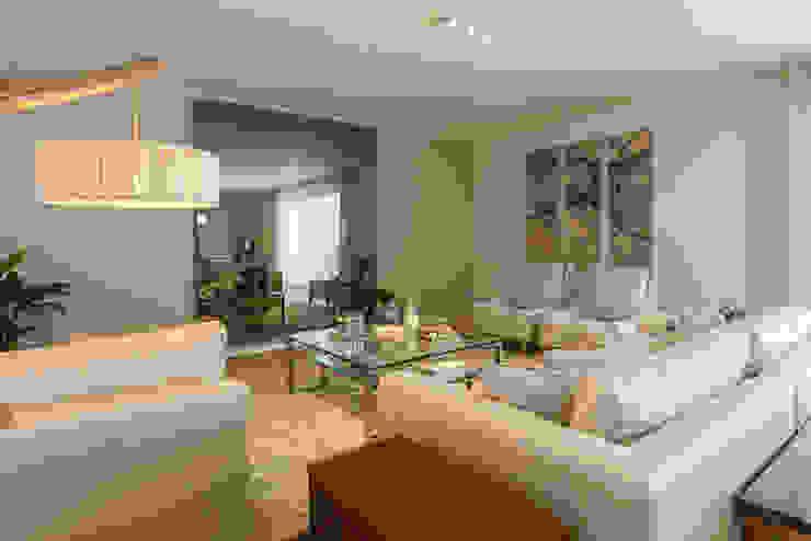 Sala Comum - Zona de Estar por Traço Magenta - Design de Interiores Moderno