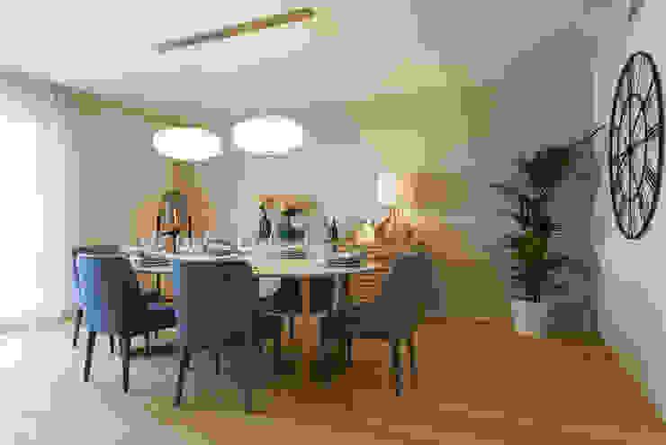 Sala Comum - Zona de Refeições por Traço Magenta - Design de Interiores Moderno