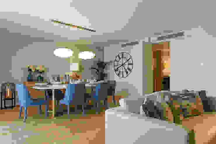 Sala Comum Traço Magenta - Design de Interiores Sala de jantarAcessórios e decoração