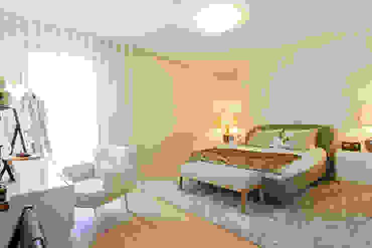 Suite Principal por Traço Magenta - Design de Interiores Moderno