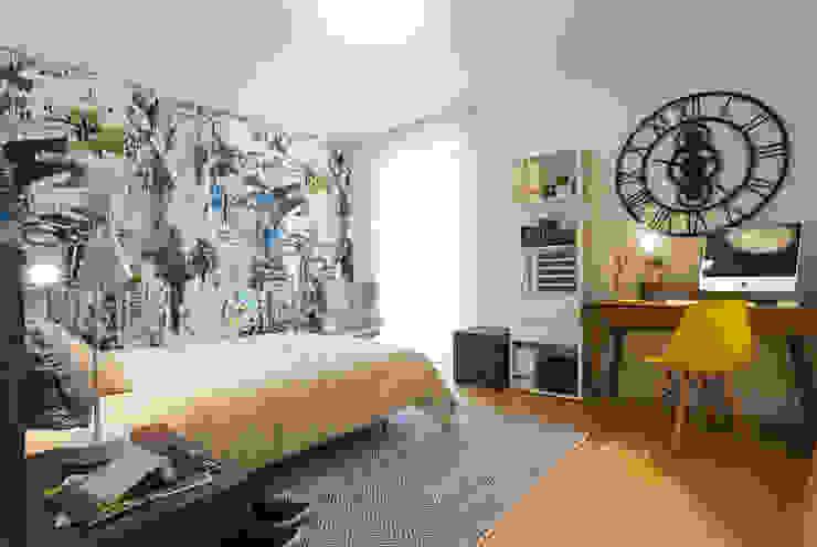 Suite de Rapaz por Traço Magenta - Design de Interiores Moderno