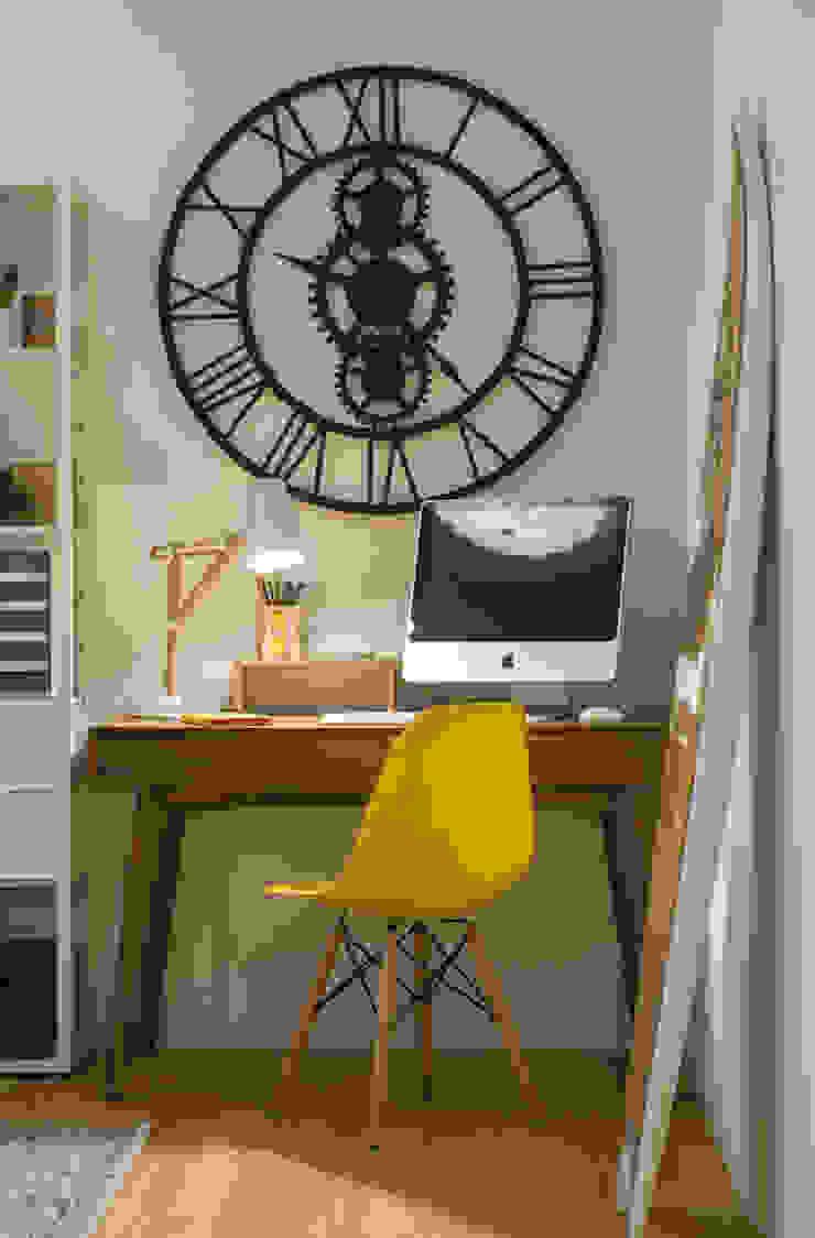 Suite de Rapaz - Pormenor por Traço Magenta - Design de Interiores Moderno