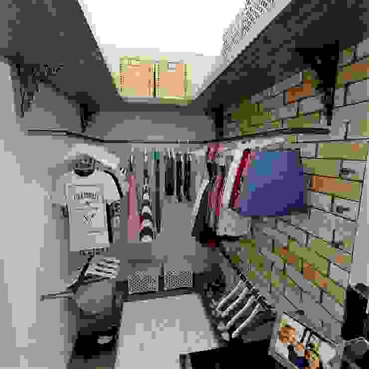 Closet - FB Grafite - Arquitetura e Interiores Closets