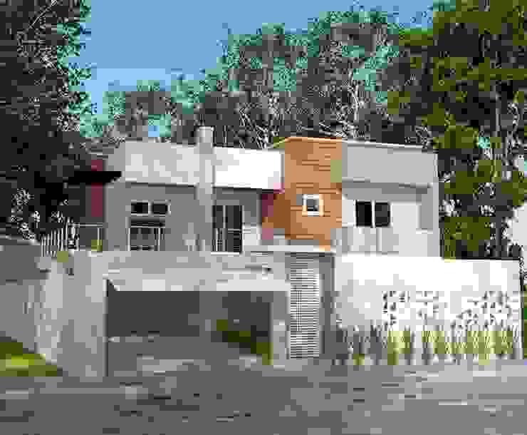 Casas modernas de Grafite - Arquitetura e Interiores Moderno