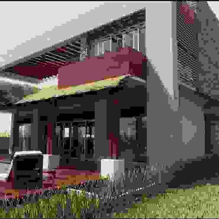proyecto casa habitacion de FRACTAL CORP Arquitectura Ecléctico