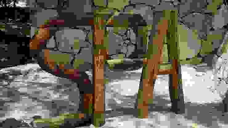 proyecto y obra spa Spa rústicos de FRACTAL CORP Arquitectura Rústico Madera Acabado en madera